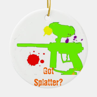GotSplatter? Ceramic Ornament