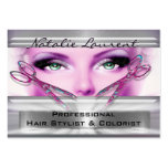 """Gotta Be Cool Hairstylist Salon   3.5"""" x 2.5"""" Large Business Cards (Pack Of 100)"""