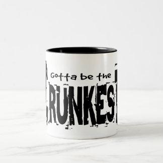 Gotta be the Crunkest Two-Tone Coffee Mug