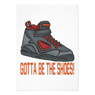 Gotta Be The Shoes Invitations