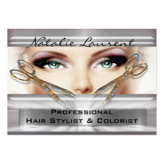 """Gotta Be with You Hairstylist Salon   3.5"""" x 2.5"""" Large Business Cards (Pack Of 100)"""