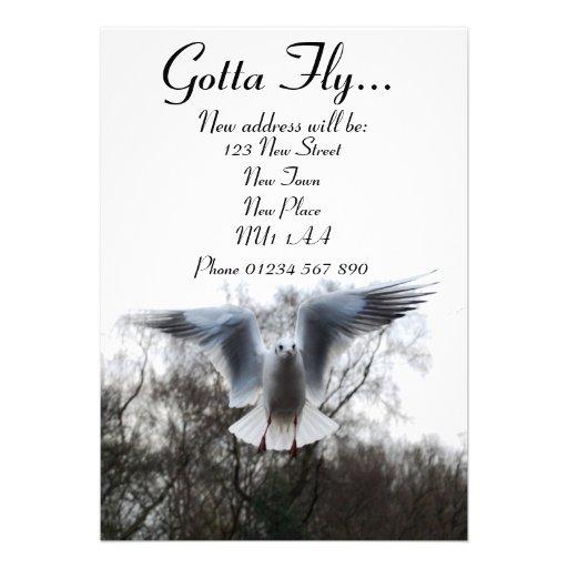 Gotta Fly - New Address Cards Invitations