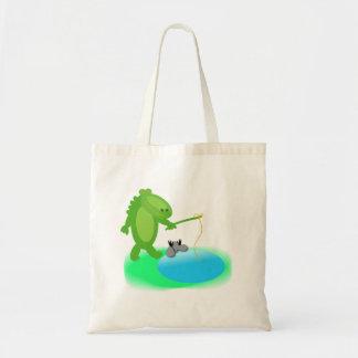 Gotta go fishing canvas bag