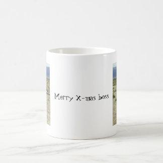 gotta go, gotta go, Merry X-mas boss Mugs
