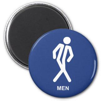 Gotta Go (Men) Fridge Magnets