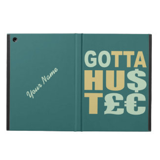 GOTTA HUSTLE / HU$T£€ custom cases iPad Air Covers