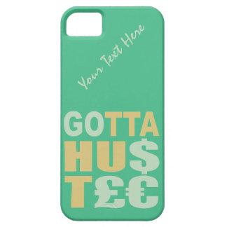 GOTTA HUSTLE / HU$T£€ custom iPhone case