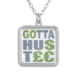 GOTTA HUSTLE / HU$T£€ custom necklace
