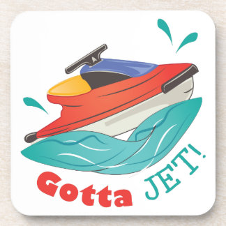 Gotta Jet Drink Coaster
