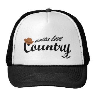 gotta love country trucker hat