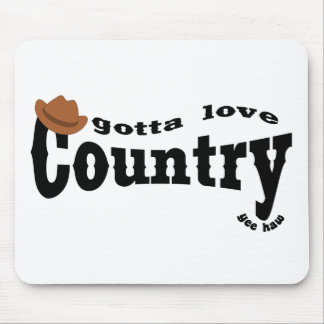 gotta love country mouse pads
