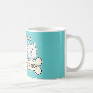 Gotta Love Eskies Coffee Mugs