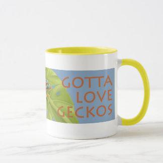"""Gotta Love Geckos"" Mug"