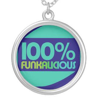 Gotta love the funk round pendant necklace