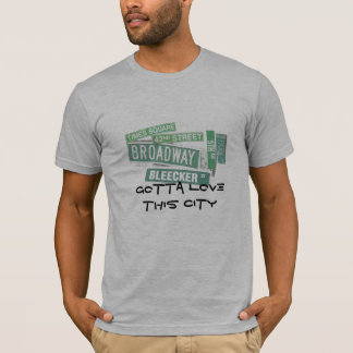 Gotta love this city - streets T-Shirt