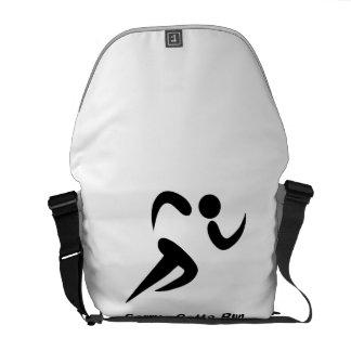 Gotta Run Messenger Bags