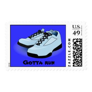 gotta run stamp