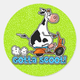 gotta scoot stickers