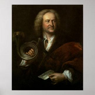 Gottfried Reiche, músico y a solas mayores Posters