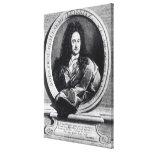 Gottfried Wilhelm Leibniz Canvas Print