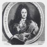 Gottfried Wilhelm Leibniz Square Stickers