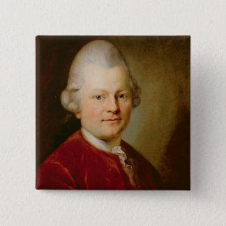 Gotthold Ephraim Lessing, 1727 Pinback Button
