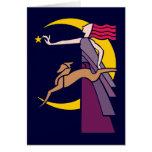 Göttin Goddess Diana Grußkarten