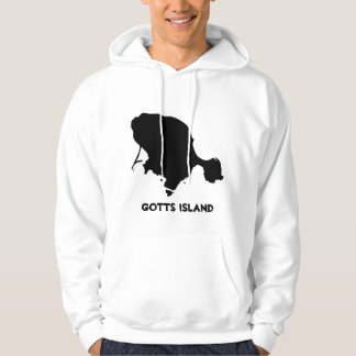 Gotts Island Hoodie - Solid Black