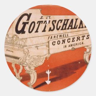 Gottschalk, conciertos de despedida en america pegatinas