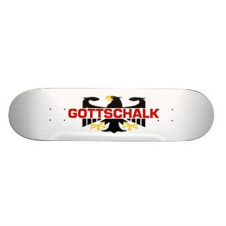 Gottschalk Surname Skate Deck