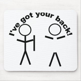 gotyourback mouse pad