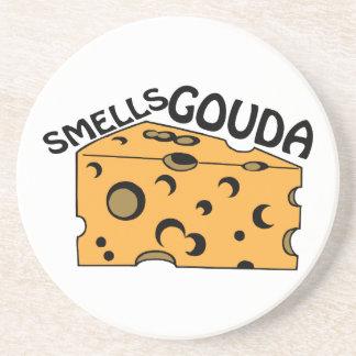 Gouda de los olores posavaso para bebida
