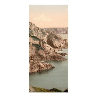 Gouffre Coast, Guernsey, Channel Islands, England Rack Card