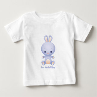 Goug Hay Fat Choy  -  Year of the Rabbit Baby T-Shirt