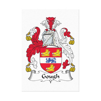 Gough Family Crest Stretched Canvas Print