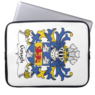 Gough Family Crest Laptop Computer Sleeves