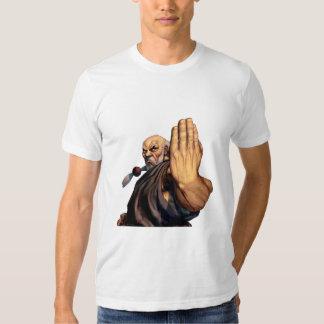 Gouken aumentó la mano camisas