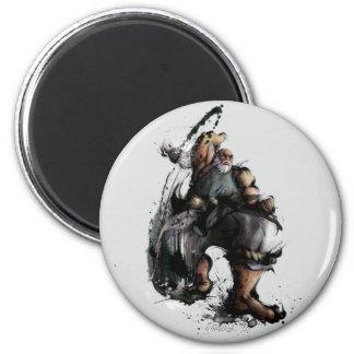 Gouken Chop 2 Inch Round Magnet