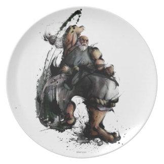 Gouken Chop Party Plates