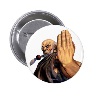 Gouken Raised Hand Button