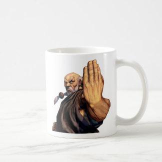 Gouken Raised Hand Coffee Mug