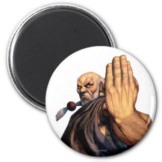 Gouken Raised Hand Magnet