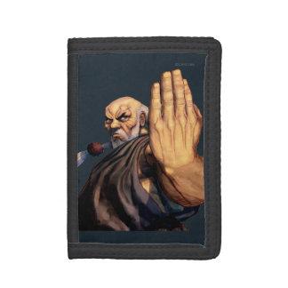 Gouken Raised Hand Trifold Wallet