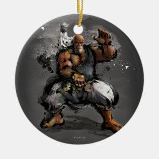 Gouken Stance Ceramic Ornament