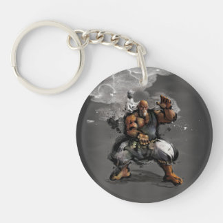 Gouken Stance Double-Sided Round Acrylic Keychain
