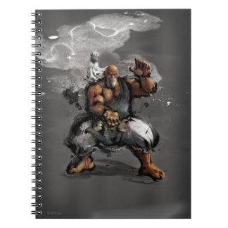 Gouken Stance Spiral Notebooks