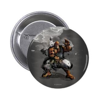 Gouken Stance Pinback Button