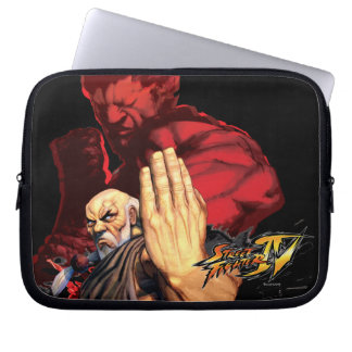 Gouken Vs. Akuma Laptop Sleeve