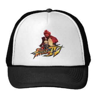 Gouken Vs. Akuma Trucker Hat
