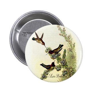 Gould - Anna's Calypte Promo Button